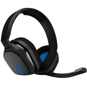Auscultador Gaming Astro A10 PS4 - Cinzento   Azul