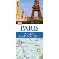 Eyewitness Pocket Map and Guide - Paris