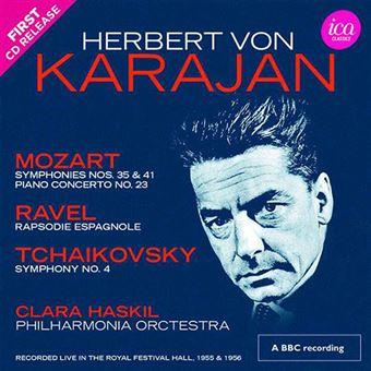 Karajan Conducts Mozart, Ravel & Tchaikovsky - 2CD
