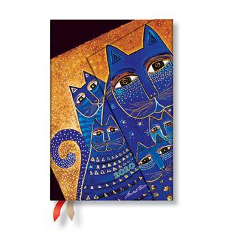 Agenda 12 Meses 2020 Paperblanks Anjersil Mini Mediterranean Cats