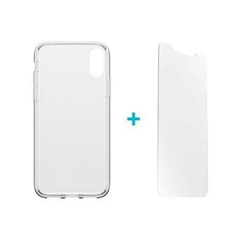 Película Ecrã Vidro Temperado Alpha Glass + Capa Otterbox para iPhone X/Xs- Transparente