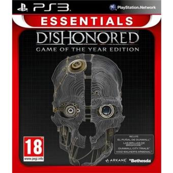 Dishonored Game of the Year Edition Essentials PS3