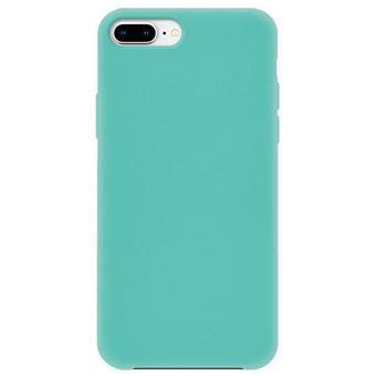 Capa 4-OK Silk Cover para iPhone 8 Plus - Azul Turquesa