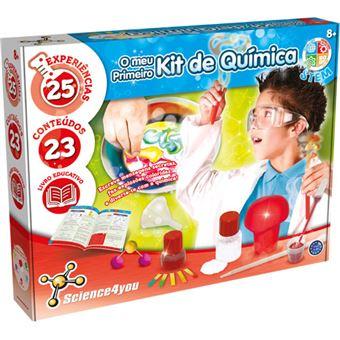 O Meu Primeiro Kit de Química - Science4you