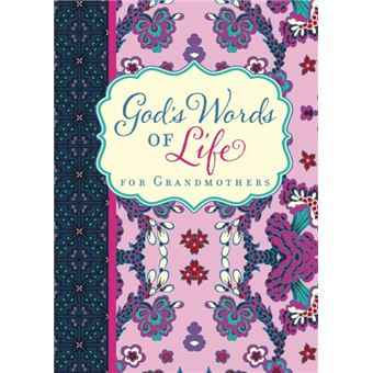 God's words of life for grandmother