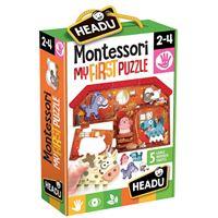 Montessori My First Puzzle: The Farm - Headu