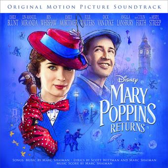 BSO Mary Poppins Returns - CD