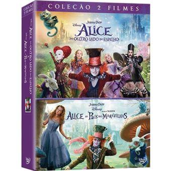 Pack Alice no País das Maravilhas + Alice do Outro Lado do Espelho
