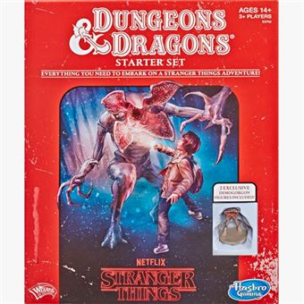 Stranger Things Dungeons & Dragons Starter Set  - Wizards of the Coast