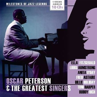 Oscar Peterson: Milestones of a Jazz Legend - 10CD