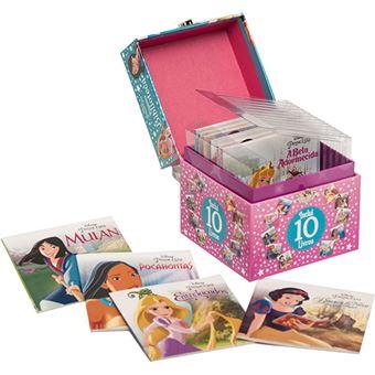 Disney Princesas - Primeira Biblioteca - 10 Livros