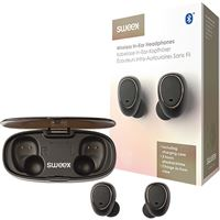 Auriculares Bluetooth True Wireless Sweex SWTWS01B - Preto