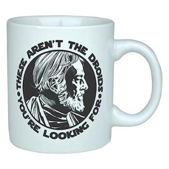 """Star Wars - Caneca Obi Wan Kenobi """"These Aren't The Droids You're Looking For"""""""