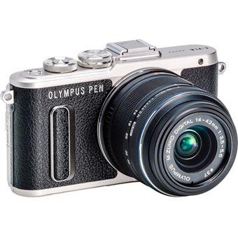 Olympus PEN E-PL8 + M.Zuiko Digital 14-42mm f/3.5-5.6 - Preto