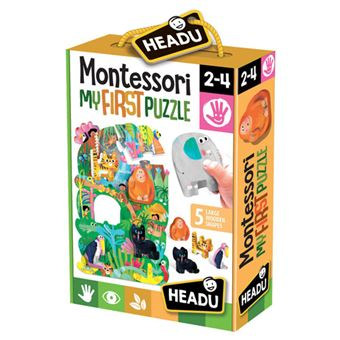 Montessori My First Puzzle: The Jungle - Headu