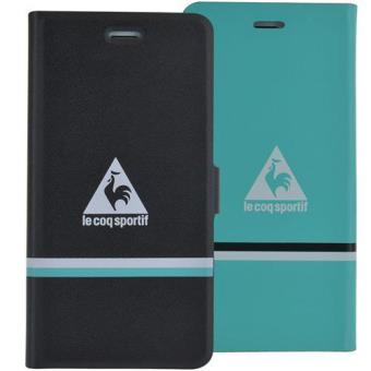 Le Coq Sportif Capa Folio Reversible para iPhone 6s/6 (Preto/Verde)