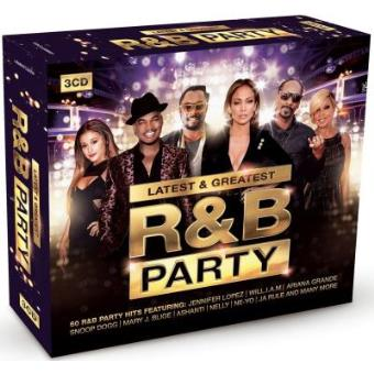Latest & Greatest R&B Party: 60 R&B Party Hits (3CD)