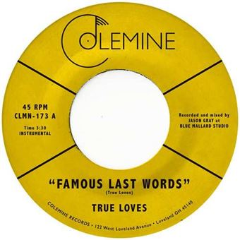 Famous Last Words - Single Vinil 7''