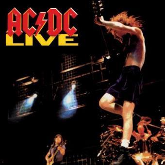 AC/DC - Live - Framed Album Cover