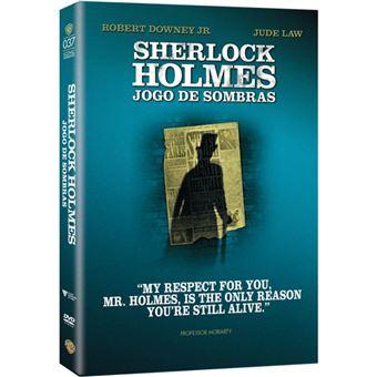 Sherlock Holmes: Jogo de Sombras - DVD