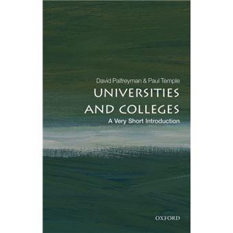 Universities and colleges: a very s