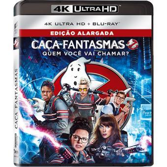Caça-Fantasmas 2016 (4K Ultra HD + Blu-ray)