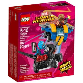 LEGO Marvel Super Heroes 76090 Mighty Micros: Star-Lord vs. Nebula