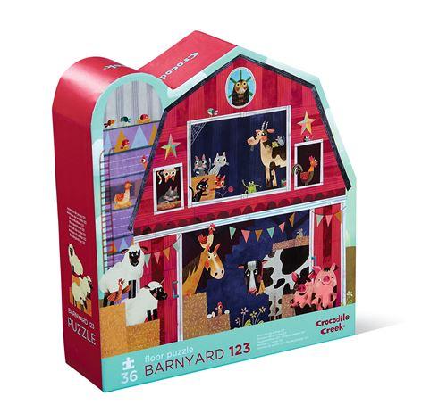 Puzzle Barnyard 123