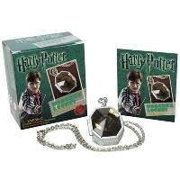 Mini Kit Harry Potter Slytherins Locket Horcrux + Sticker Book
