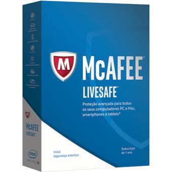 Antivírus McAfee LiveSafe 2017 (Todos os Dispositivos | 1 Ano)