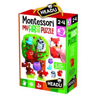 Montessori My First Puzzle: The Forest - Headu