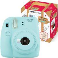 Pack Natal Fujifilm instax mini 9 - Azul Gelo