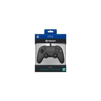 Comando PS4 Nacon Compact Com Fios - Preto