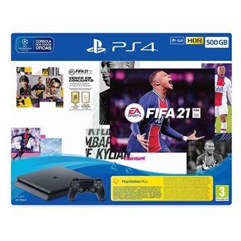 PS4 500GB + FIFA 21