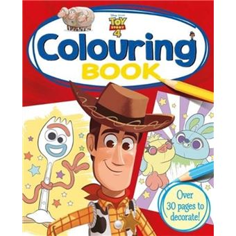 Disney pixar toy story 4: colouring