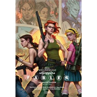 Fables the deluxe edition book 10