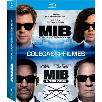 Pack MIB: Homens de Negro 1+2+3+4 - 4Blu-ray