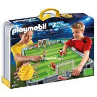 Playmobil Sports & Action 6857 Mala Campo de Futebol