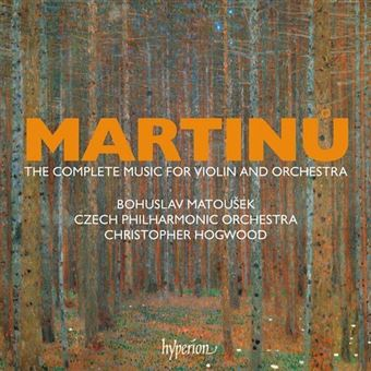 Martinů: The Complete Music for Violin and Orchestra - 4CD