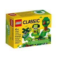 LEGO Classic 11007 Peças Verdes Criativas