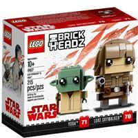 LEGO BrickHeadz 41627 Luke Skywalker e Yoda