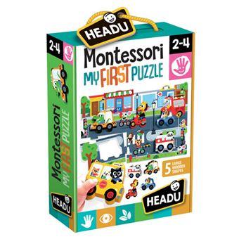Montessori My First Puzzle: The City - Headu