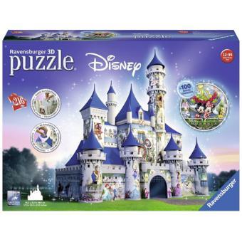 Puzzle 3D Castelo Disney - 216 Peças - Ravensburger