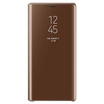 Capa Samsung Clear para Galaxy Note9 - Castanho