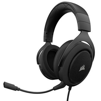 Auscultadores Gaming Corsair HS60 Surround Carbon - PS4