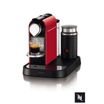 Krups Nespresso Citiz & Milk (Vermelha)