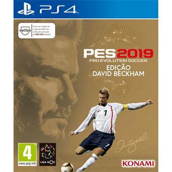 PES 2019 Edição David Beckham - PS4