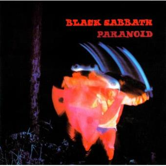 Black Sabbath - Paranoid - Framed Album Cover