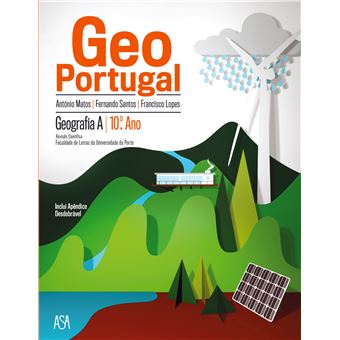 GeoPortugal Geografia A 10º Ano - Manual do Aluno