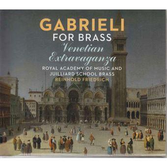 Gabrieli for Brass: Venetian Extravaganza - CD